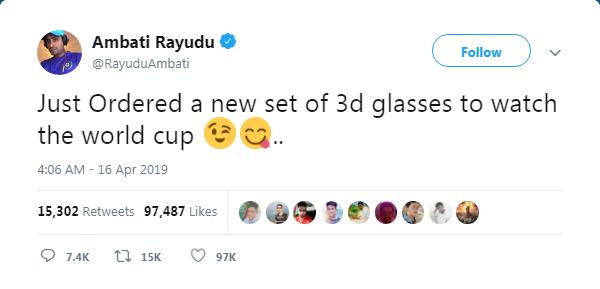 Cricket updates: அம்பதி ராய்டு அனைத்து சர்வதேச கிரிக்கெட்டில் இருந்து ஓய்வு