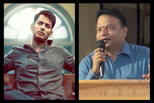 நடிகர் சங்க தேர்தல் 2019: விஷாலுக்கு எதிராக இஷாரி கணேஷ் போட்டி