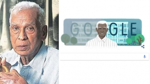 உலக புகழ் பெற்ற கண் மருத்துவர் கோவிந்தப்பா வெங்கடசாமி அவர்களை கூகுள் டூடுல் அவருடைய 100வது பிறந்தநாளில் கவுரவித்துள்ளது.