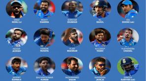 உலகக்கோப்பை 2019: இந்திய அணி