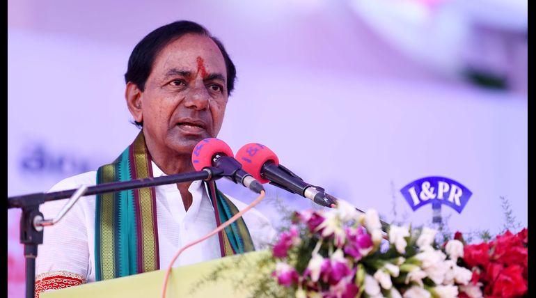 தெலுங்கானா முதல்வர் சந்திரசேகர ராவ்