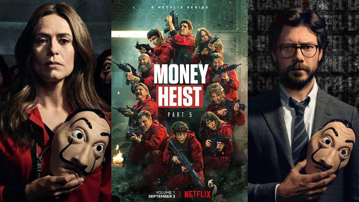 மணி ஹெய்ஸ்ட் சீசன் 5. Netflix